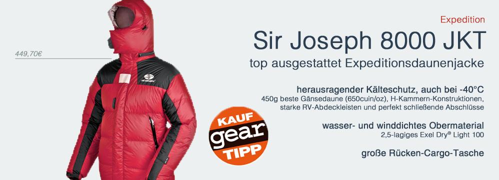Expeditionsdaunejacke Sir Joseph 80008000