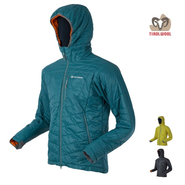 Sir Joseph Spike Hooded Man Tirol Wool Thermo-Jacke