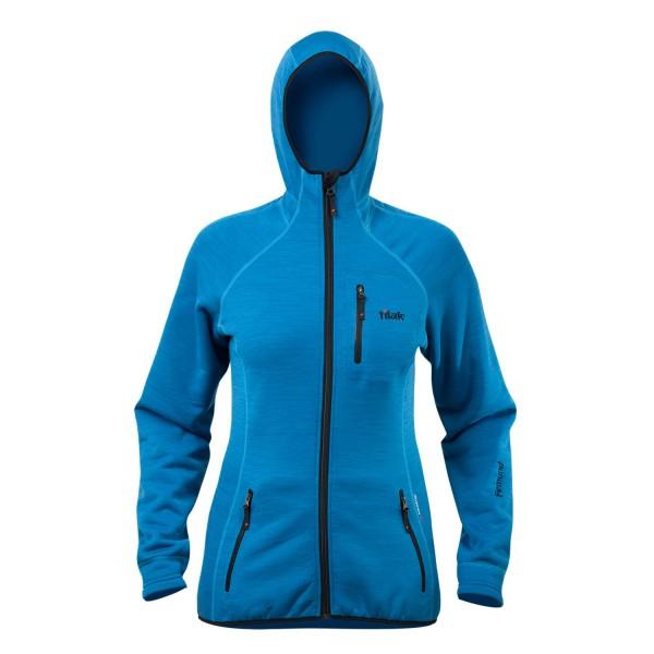 Tilak Femund Women blue Powerstretch Fleece-Jacke