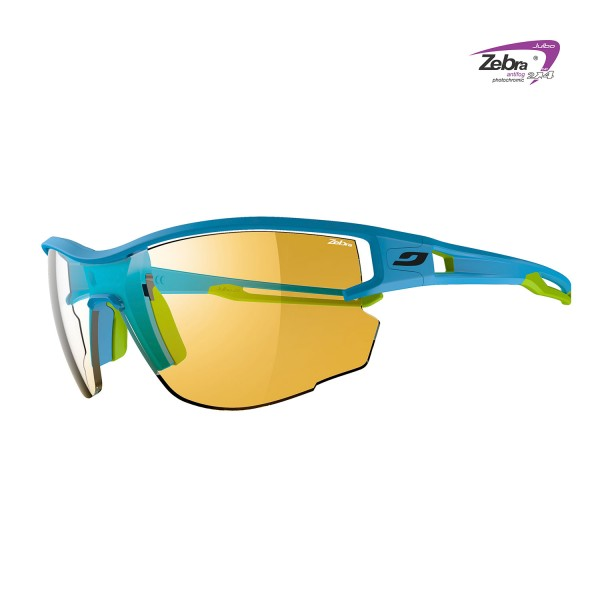 Trail Running Brille Julbo Aero Zebra blue