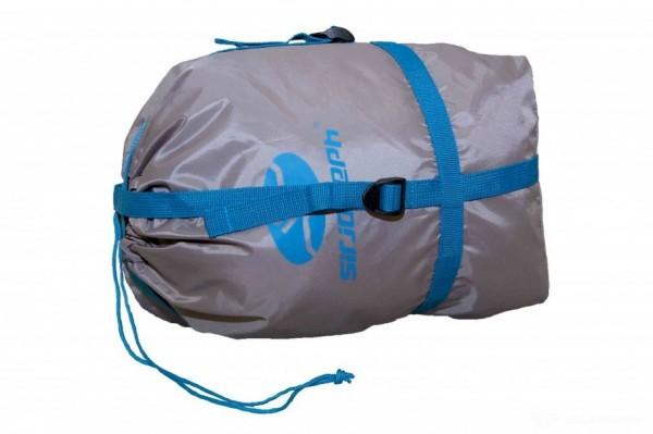 Sir Joseph COMPRESS BAG grau Kompressionssack für Schlafsäcke und Daunenbekleidung