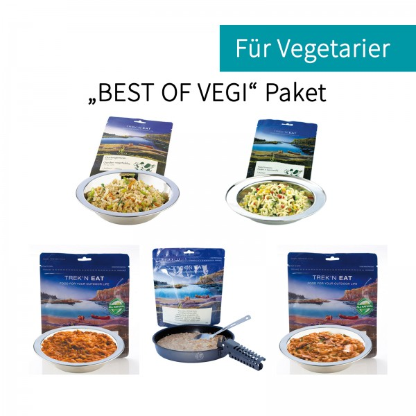 "Trek'n Eat ""Best of Vegi"" Paket"