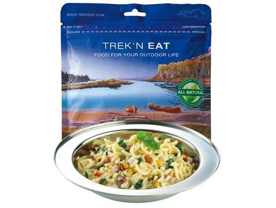 Trek'n Eat  Sahnenudeln mit Hühnchen und Spinat  - Expeditionsnahrung