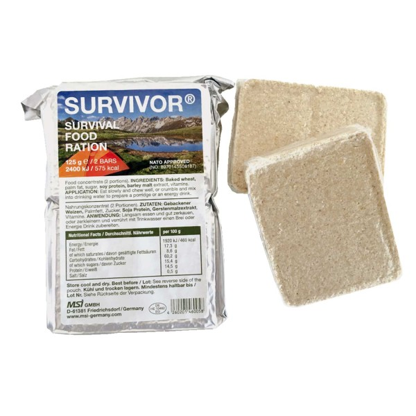 Survivor Food ration Notproviant