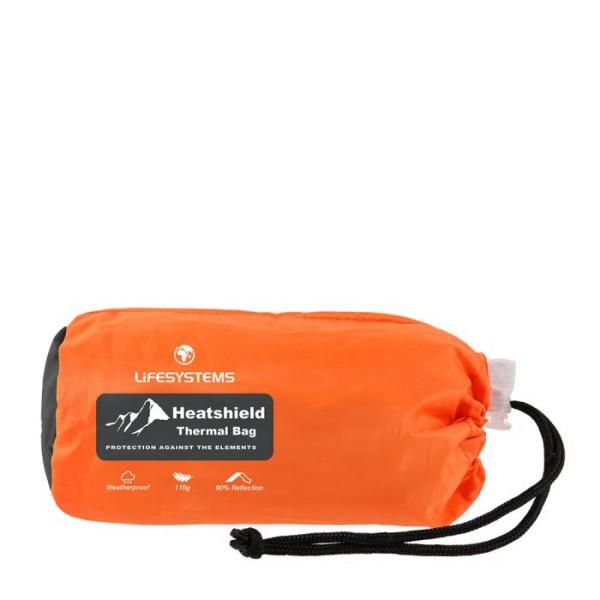 Notfall-Biwaksack Lifesystems Heatshield Bag  im Packsack