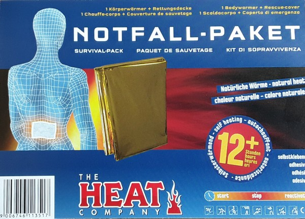 The HEATcompany Survival Pack Notfall-paket