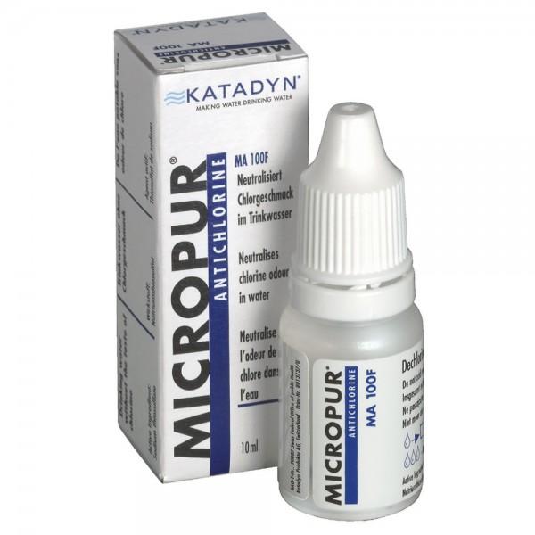 MICROPUR ANTICHLOR MA 100F entfernt sicher und schnell Chlorgeschmack aus Wasser