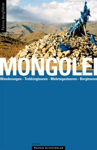 Jens Geu: Bergführer MONGOLEI - Wanderungen, Trekkingtouren, Bergtouren, Mehrtagestouren