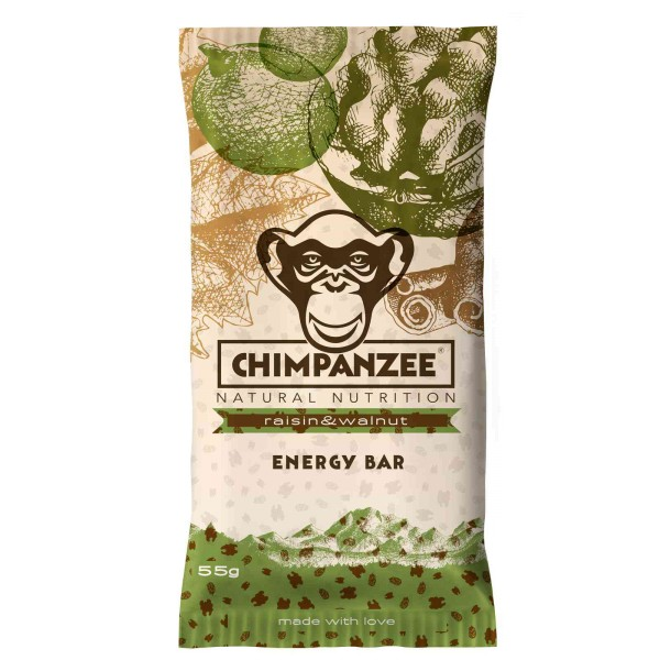 Chimpanzee Energy Bar Raisin & walnut Energieriegel