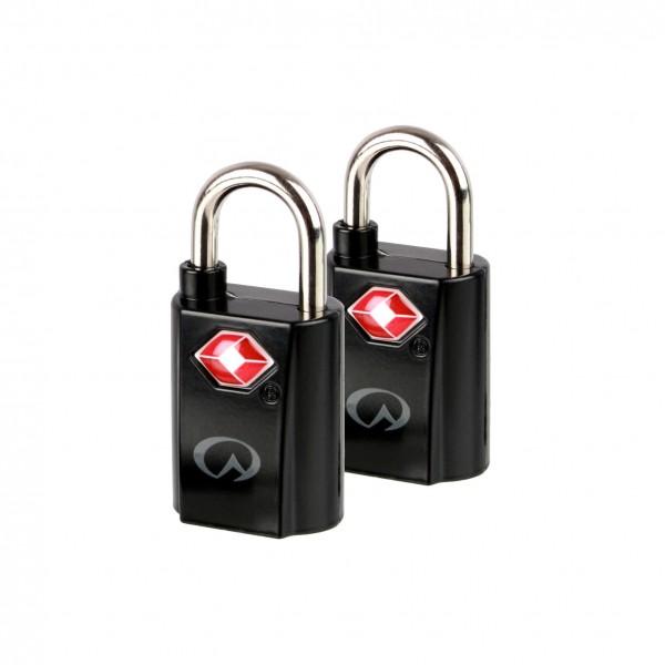 Liveventure TSA Mini Padlocks Vorhängeschlösser mit Schlüsseln (2er-Pack)