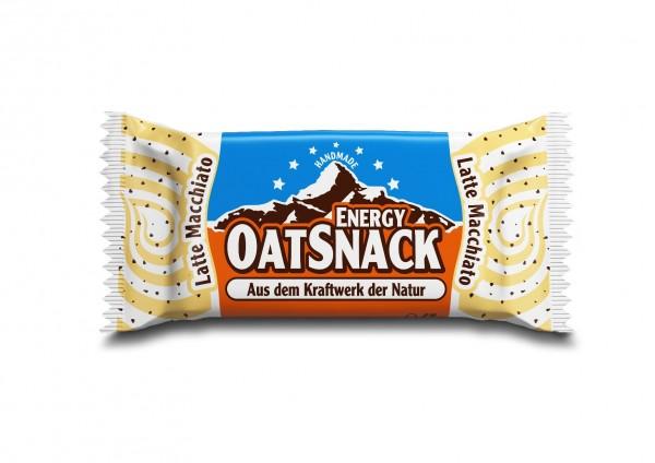 Haferflocken-Enerieriegel Energy OatSnack Latte Macchiato
