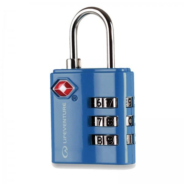 Zahlenschloss Lifeventure TSA Combi Lock blue