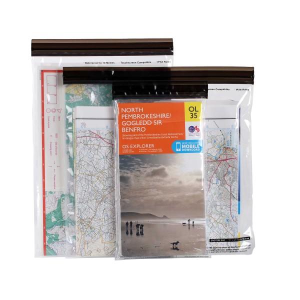 Lifeventure Loc-Top Waterproof Bags für Kartenmaterial
