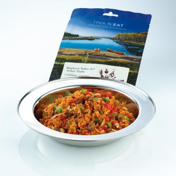 "Expeditionsessen und Trekkingmahlzeit Trek'n Eat Reispfanne ""Balkan Art"""