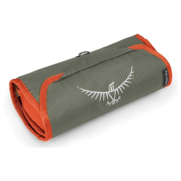 Opsrey Ultralight Washbag Roll poppy orange